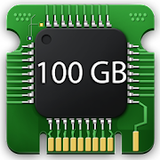 100 GB Storage Space Cleaner : 100 GB RAM Booster