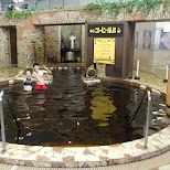 bizarre Coffee Spa at the Yunessun Water Park in Hakone, Japan in Hakone, Kanagawa, Japan