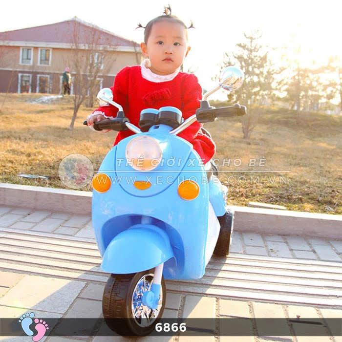 Xe máy điện cho bé Mio 6866 4