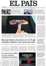 Photo: Rajoy promete a la UE que cumplirá el déficit y las elecciones en Egipto, en nuestra portada de este martes http://www.elpais.com/static/misc/portada20111129.pdf