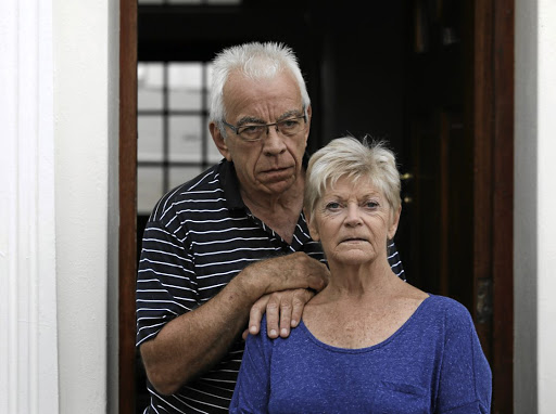 Lynne Marshall and her partner Rick Lawrence of Cape Town have been cheated out of more than R420000 by an e-mail fraudster who fooled their conveyancing attorney into paying the money into the wrong bank account. The attorney says it's not her fault. Picture: Esa Alexander