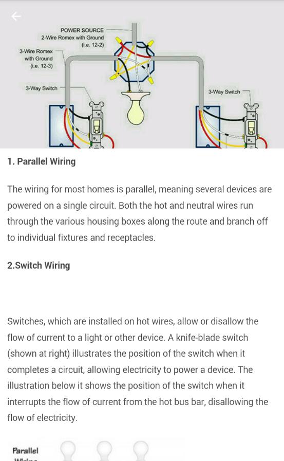 Tolle Parallel Electrical Wiring Bilder - Elektrische Schaltplan ...
