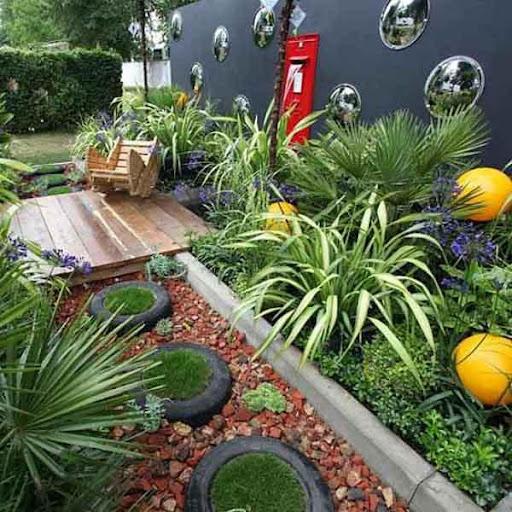 美しい庭のアイデア