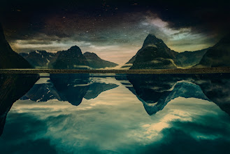 Photo: A few days ago in Milford Sound... This is from a series of New Zealand photos onhttp://www.StuckInCustoms.com