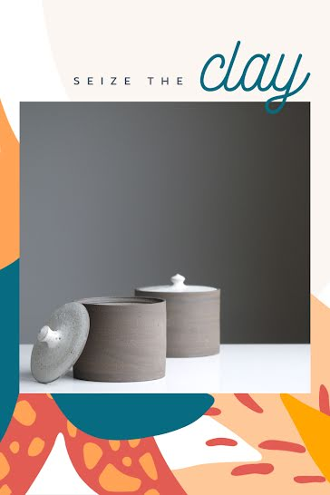 Seize the Clay - Pinterest Pin Template