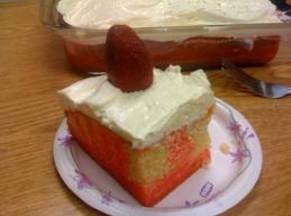 Strawberry Pop Cake Recipe