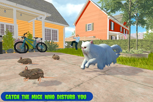 family pet cat simulator: simulation games screenshots 9