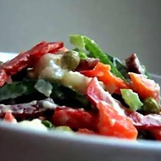 """Salad """"Bukovyna""""."""