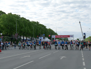 Photo: Vlak voor de start