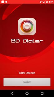 BD Dialer - náhled
