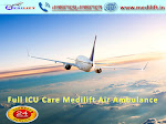Hire Medical Facility Air Ambulance in Raipur by Medilift