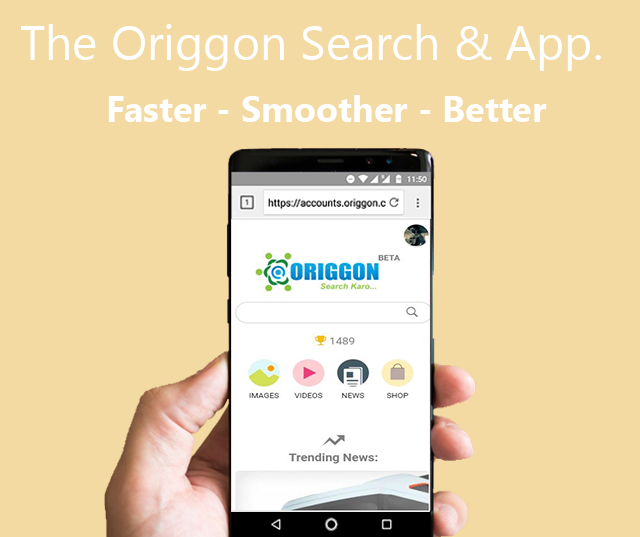 Origgon Official Search & Browser- screenshot