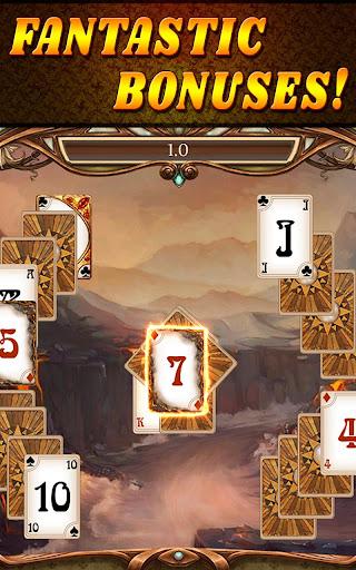 Shadow Kingdom Solitaire. Adventure of princess filehippodl screenshot 15