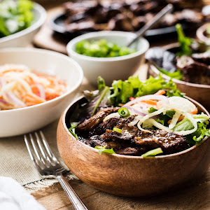 Filipino Pork Barbecue Bowl