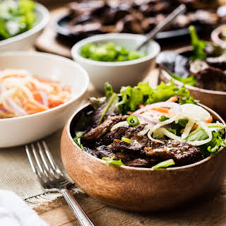 Filipino Pork Barbecue Bowl.