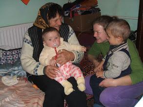 Photo: Arnoldka unokatesó kezd megszokni