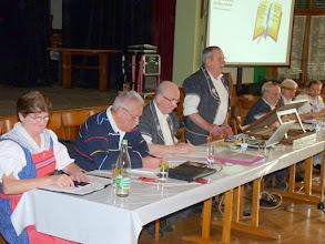 Photo: Marcel Thürler Président et les membres du comité