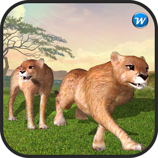 Wild Cougar Jungle Animal Hunt