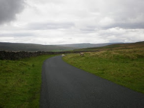 Photo: PW - The road to Pen-y-Ghent
