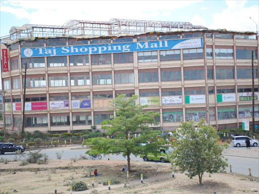 A file photo of Airgate Mall, formerly Taj Mall, along Outering Road in Nairobi county. /PATRICK VIDIJA
