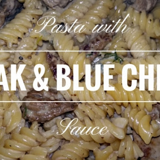 Steak & Blue Cheese Pasta