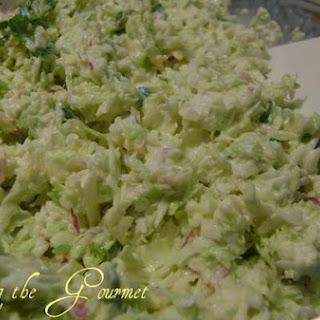 Creamy Cilantro-Lime Salad