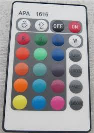 RGB LED-set huren met afstandsbediening
