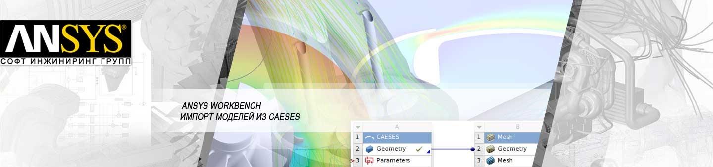 Оптимизационные расчёты геометрических моделей из CAESES в продуктах ANSYS
