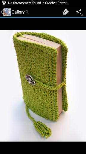 Crochet Pattern Book Cover