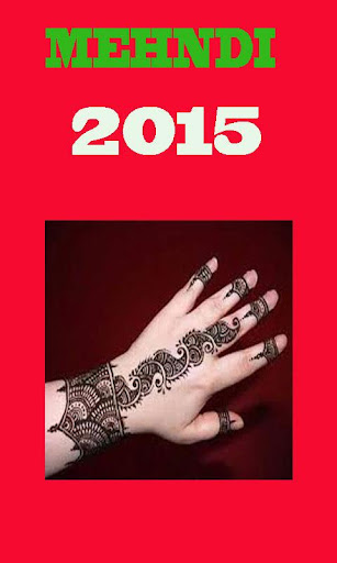 Mehndi Design 2015