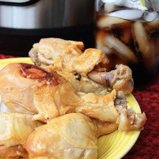 Pressure Cooker BBQ Chicken Drumsticks.