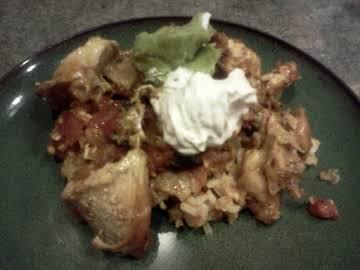 Mexican Chicken Enchilada Casserole