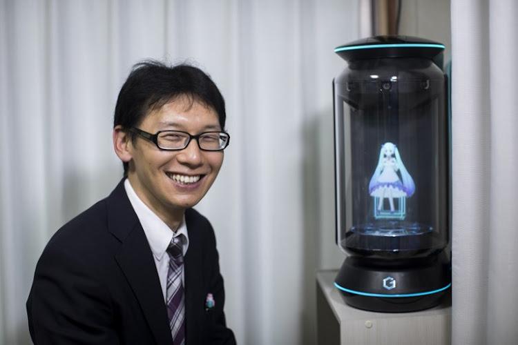 Αποτέλεσμα εικόνας για Japanese man 'marries' hologram