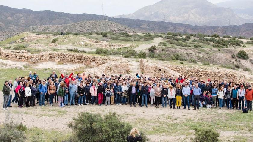 Firmas para que el yacimiento arqueológico de Los Millares sea declarado  como Patrimonio de la Humanidad