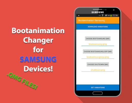 Bootanimation for Samsung