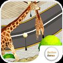 girafe simulateur 3D icon