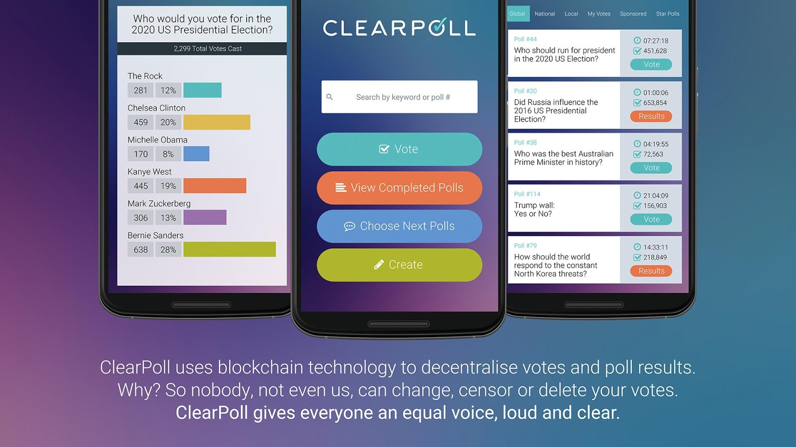 ClearPoll - Alpha (Unreleased)- screenshot