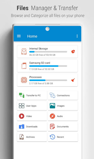 File Manager - Easy file explorer & file transfer screenshots 1
