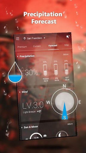 GO Weather Lite - Forecast, Widget, Light 1.1 screenshots 4