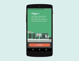 Screenshot of Ginger.io