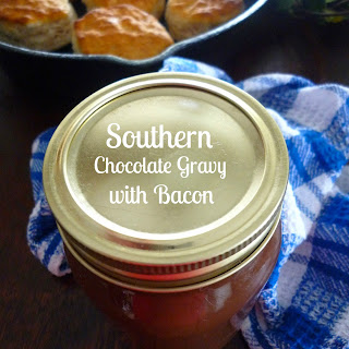 Southern Chocolate Gravy with Bacon