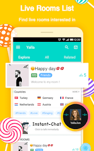 Yalla-Free Voice Chat Rooms - náhled