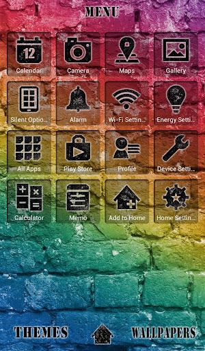 Colorful Bricks +HOME Theme 1.0.0 Windows u7528 2