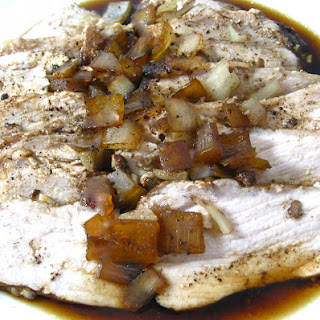Skinny Crock-Pot Balsamic Pork Tenderloin