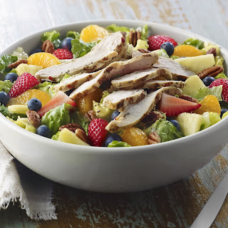 Strawberry Poppyseed Chicken Salad