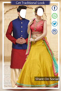 Traditional Couple Photo Suit - náhled