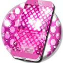 Pink Sparkle Keyboard icon