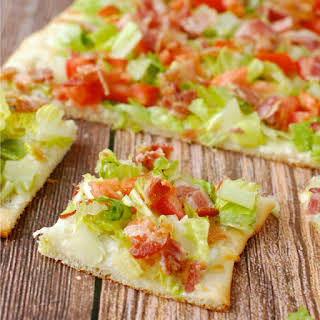 Ranch BLT Pizza.