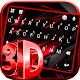Red Black 3D Keyboard Theme Download on Windows