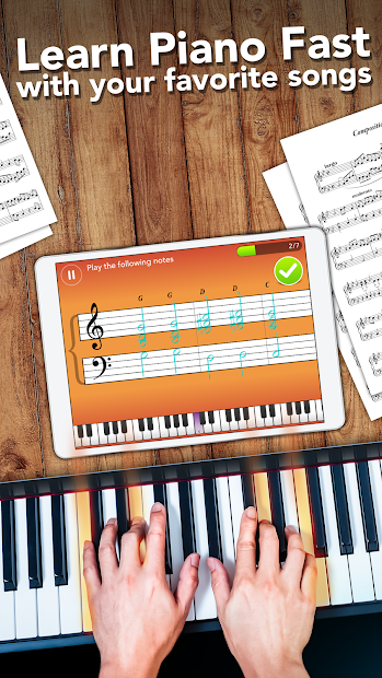 Simply Piano by JoyTunes Android App Screenshot